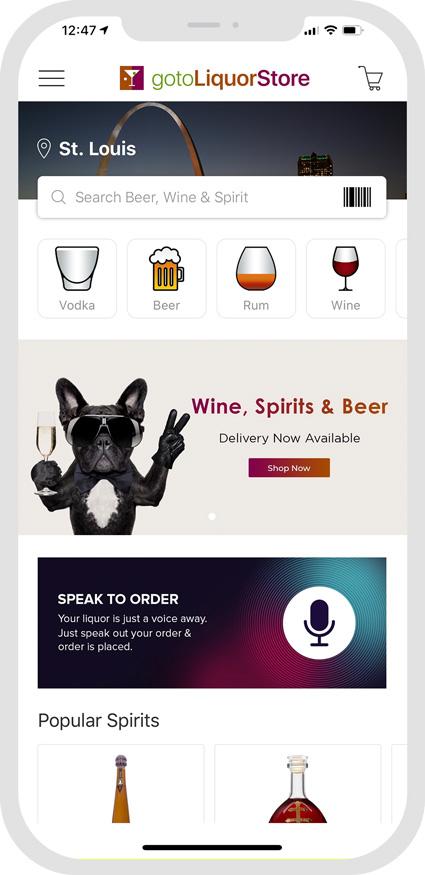 GotoLiquorStore App